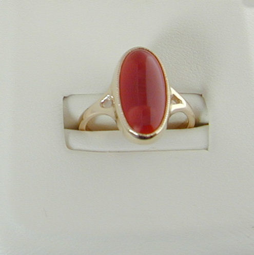 Uig Ring 9ct Cornelian