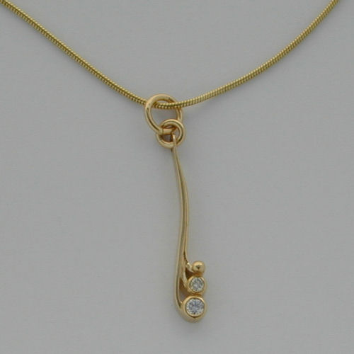 Tay Pendant Diamond