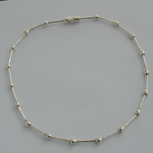 Shin Silver Necklace