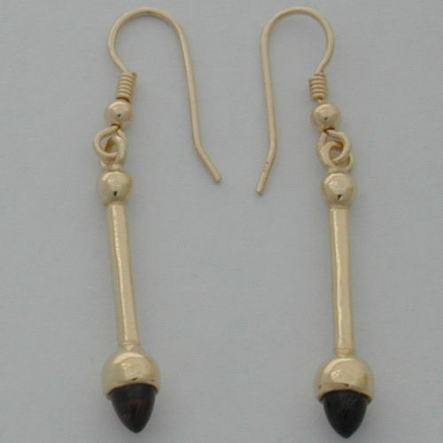 Shin Stoneset Earrings 9ct