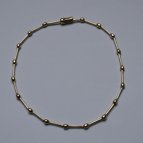 Shin 9ct Gold Necklace