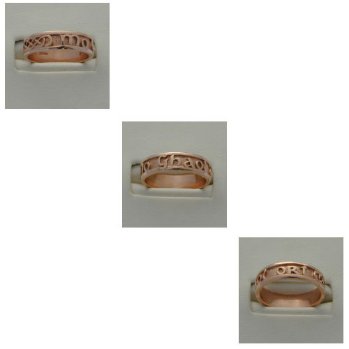 Mo Ghaol Ort Gold 9ct Rose Gold