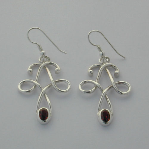 Aird Silver Earrings
