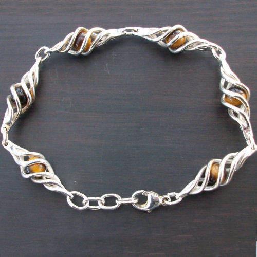 Eilidh Tigers eye Bracelet