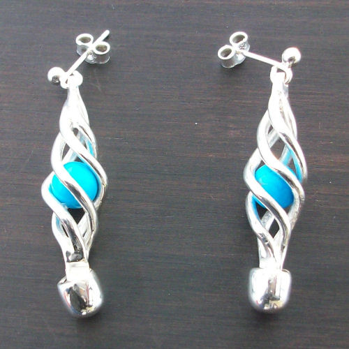 Eilidh Turquoise Earrings