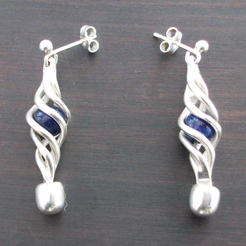 Eilidh Sodalite Earrings