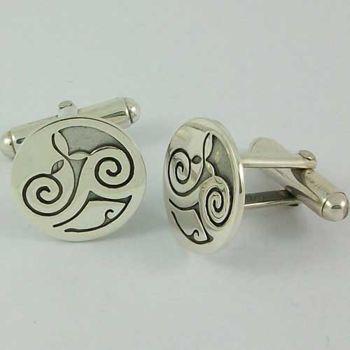 Mini Mhorain Cufflinks