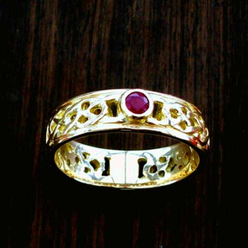 Iona Ruby 18ct