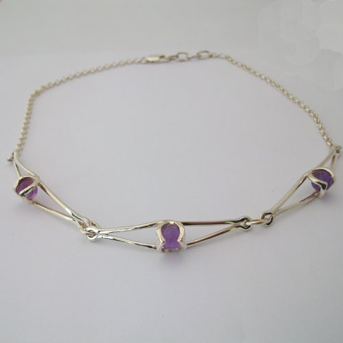 Enya Amethyst Necklace