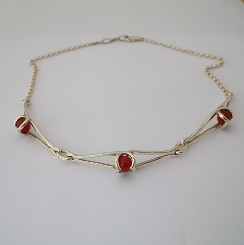 Enya Cornelian Necklace