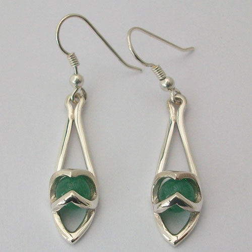 Enya Aventurine Earrings