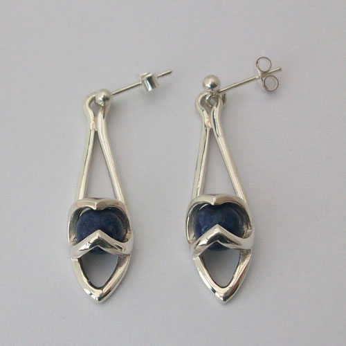 Enya Sodalite Earrings