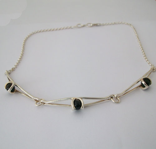 Enya Onyx Necklace