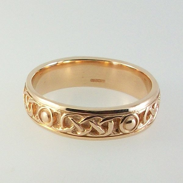 Iona Ring Solid 9ct Rose