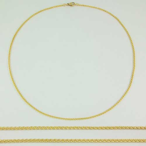 Spiga 9ct Gold Chain