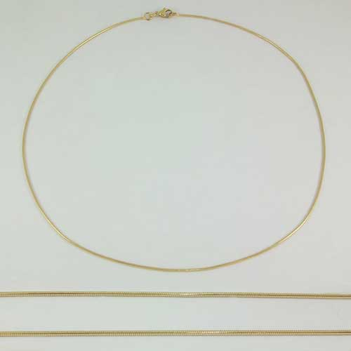 Snake Chain 9ct Gold