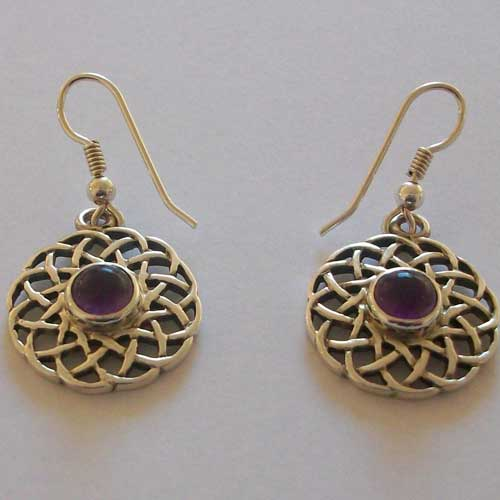 Calanais Amethyst Earrings