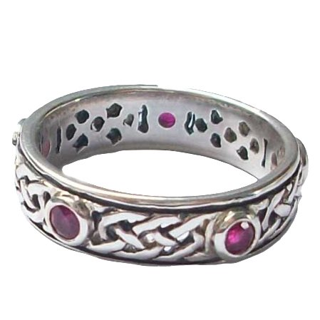 Iona Ring Ruby