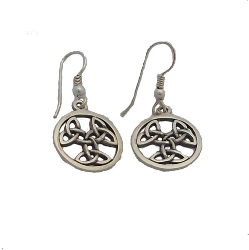 Clachaig Silver Earrings