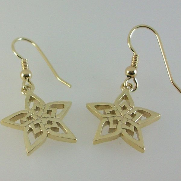 Hebridean Star Earrings
