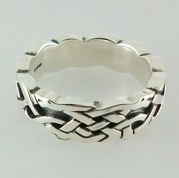 Kyle Silver Ring