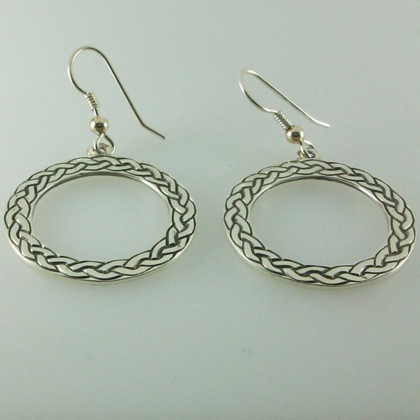 Celtic Circle Earrings
