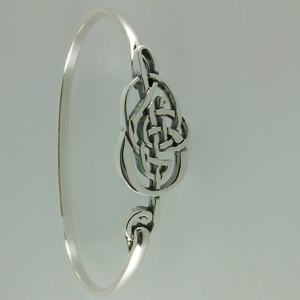 Celtic Treble Clef Bangle