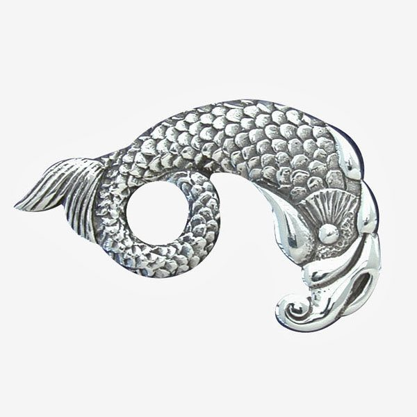 Celtic Mermaid Brooch
