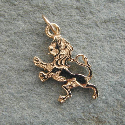 Lion Rampant Gold 9ct