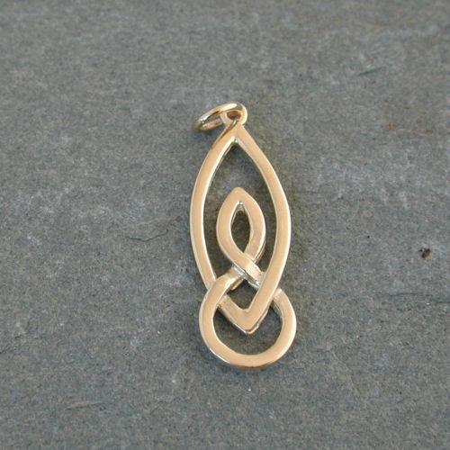 Lewis Gold Charm 9ct