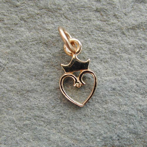 Castle Charm 9ct Gold