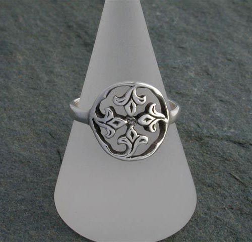 Sandray Silver Ring