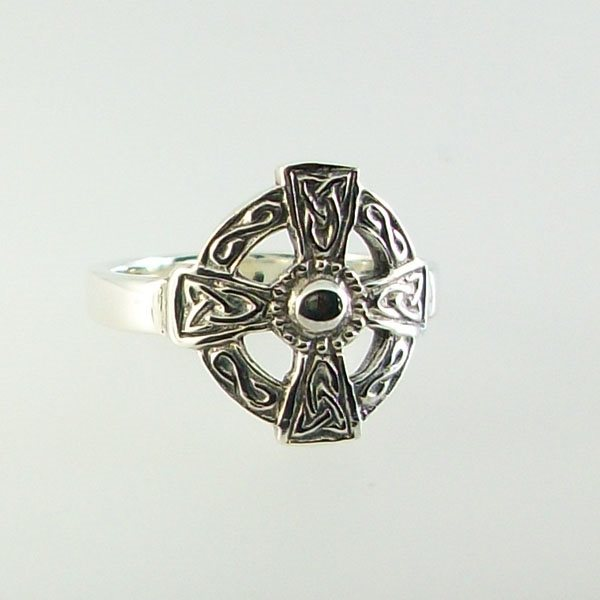 St Augustine Silver Ring