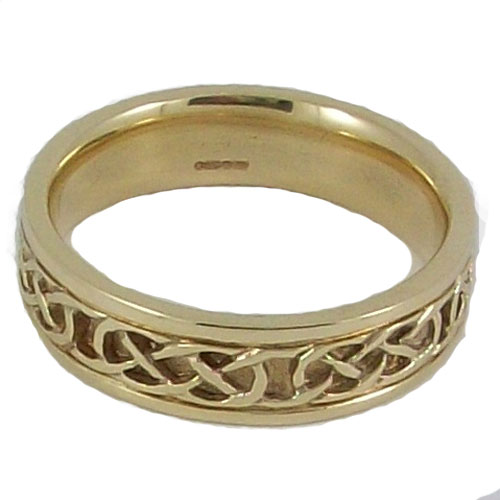 Iona Ring Plain 9ct Gold