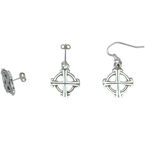 St Joseph Silver Earrings