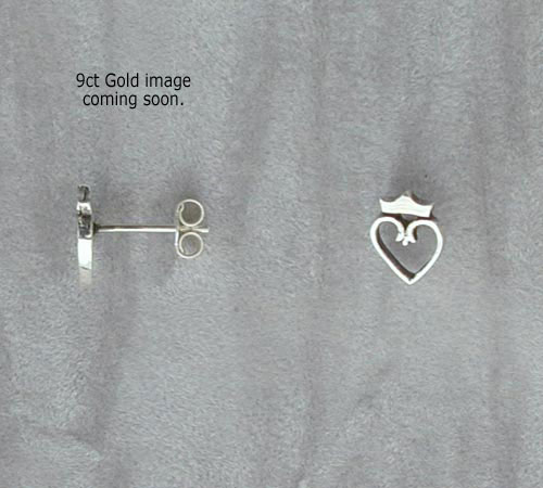Castle Gold Earrings