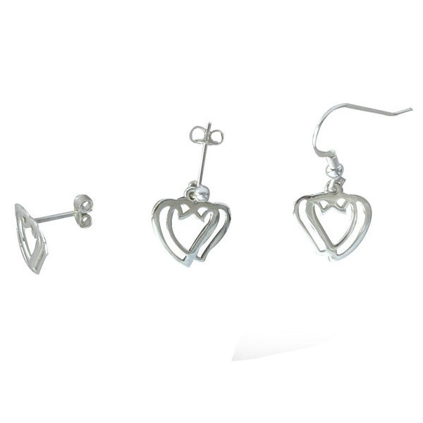 Greyfriars Silver Earrings