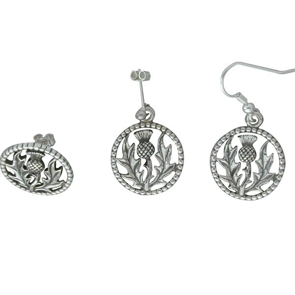 Braes Silver Earrings