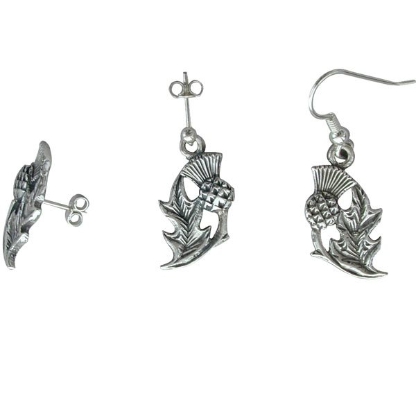 Flodden Silver Earrings