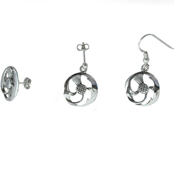 Glenshiel Silver Earrings