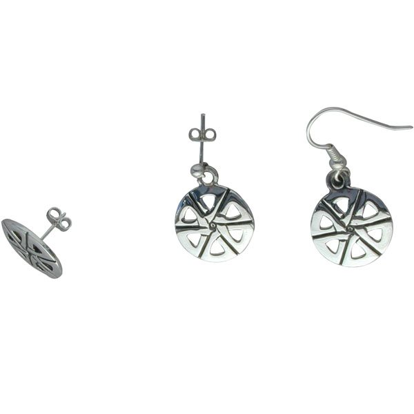 Mingulay Silver Earrings
