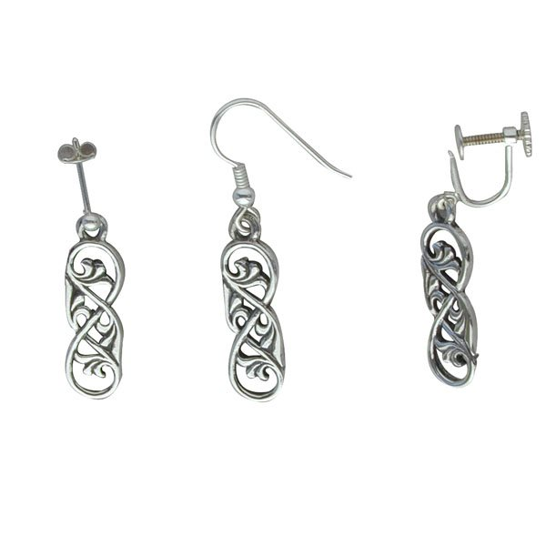 Eriskay Silver Earrings