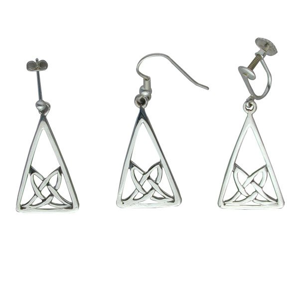 Hellisay Silver Earrings