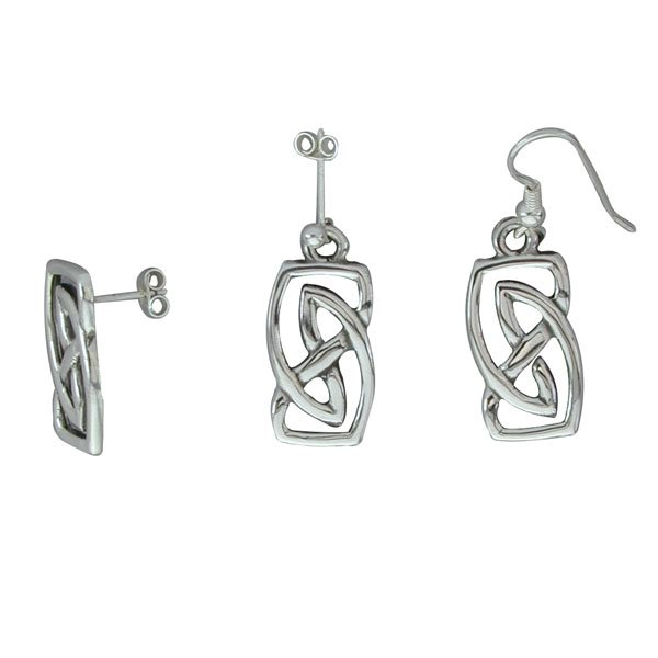 Vatersay Silver Earrings