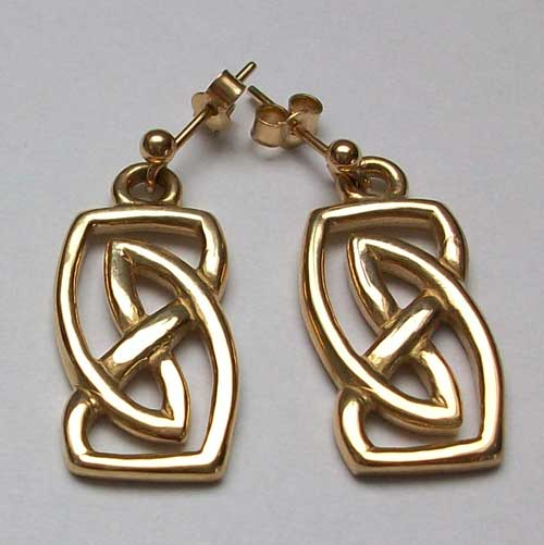 Vatersay Gold Earrings