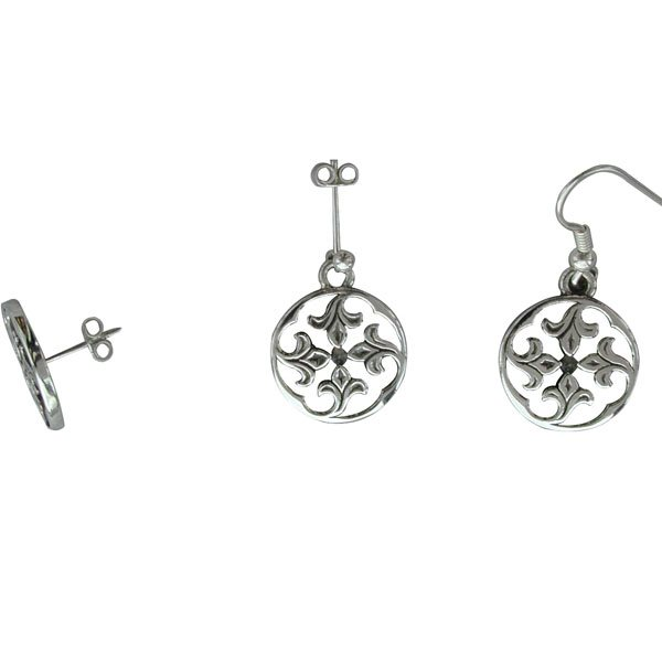 Sandray Silver Earrings