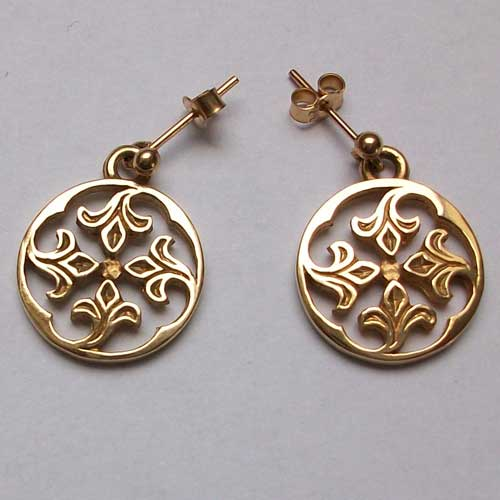 Sandray Gold Earrings