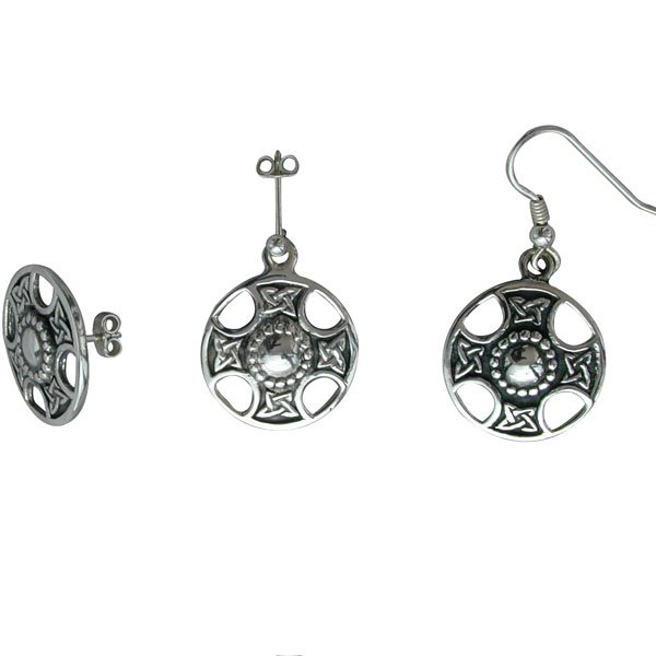 St Fillans Silver Earring
