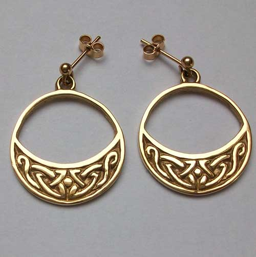 Lasgaich Gold Earrings