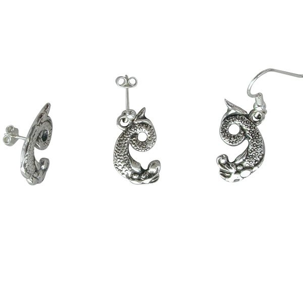 Ornais Silver Earrings